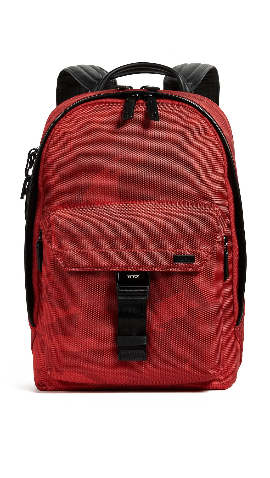Tumi Men's x Westbrook Morrison Backpack, Red, One Size