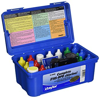 Taylor Technologies Inc. K-2006 Test Kit Comp Chlorine Fas-DPD
