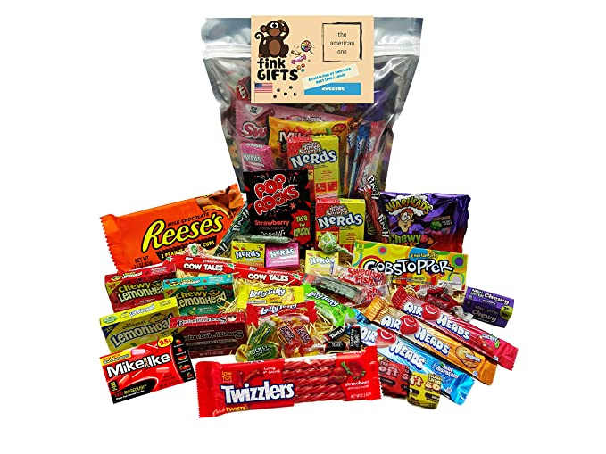 The Americano One | Bolsa de regalo Americano Candy USA | Bolsa De Caramelos Y Dulces