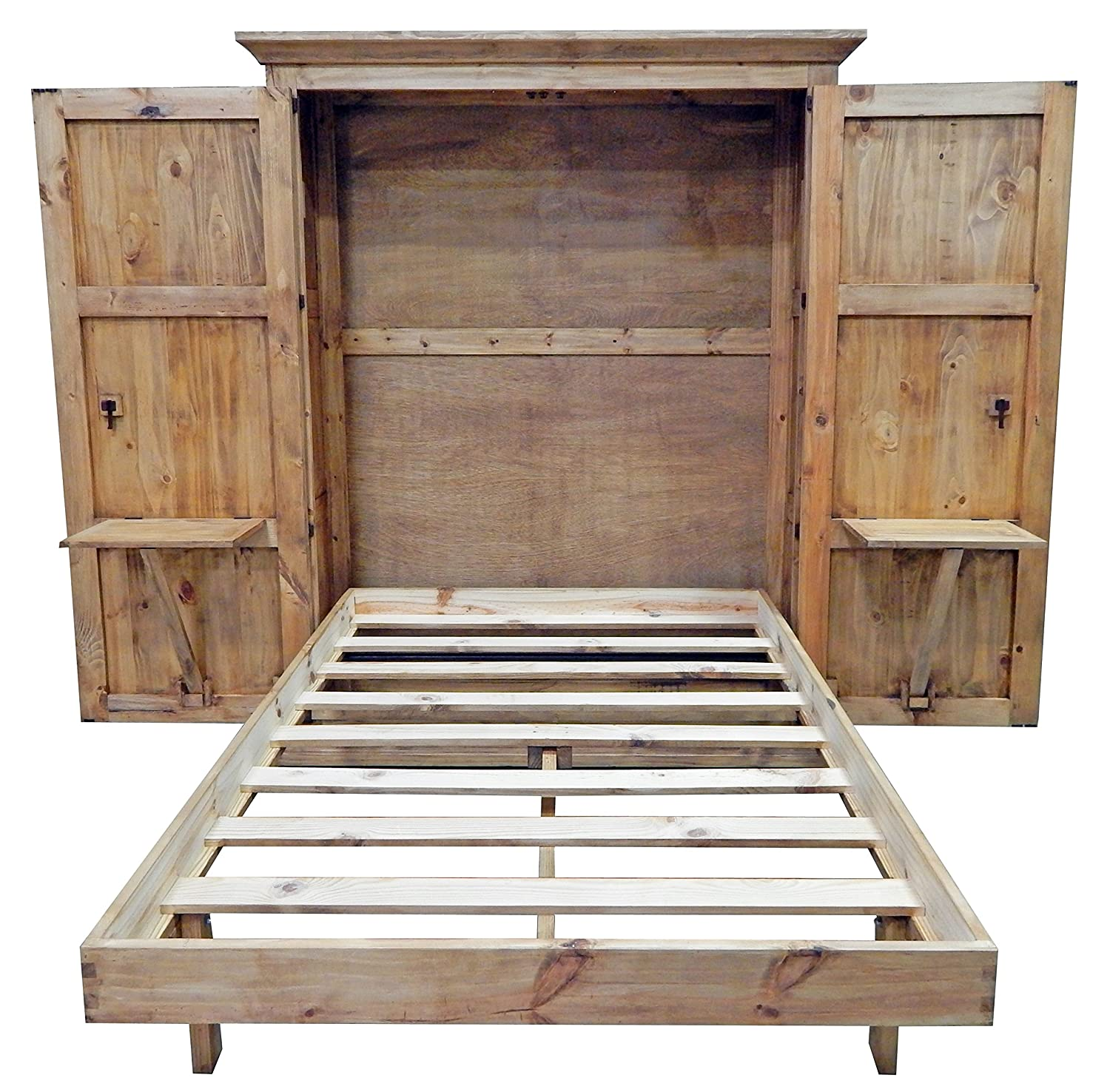 Murphy Bed.Full Size Solid Wood Murphy Hideaway Bed