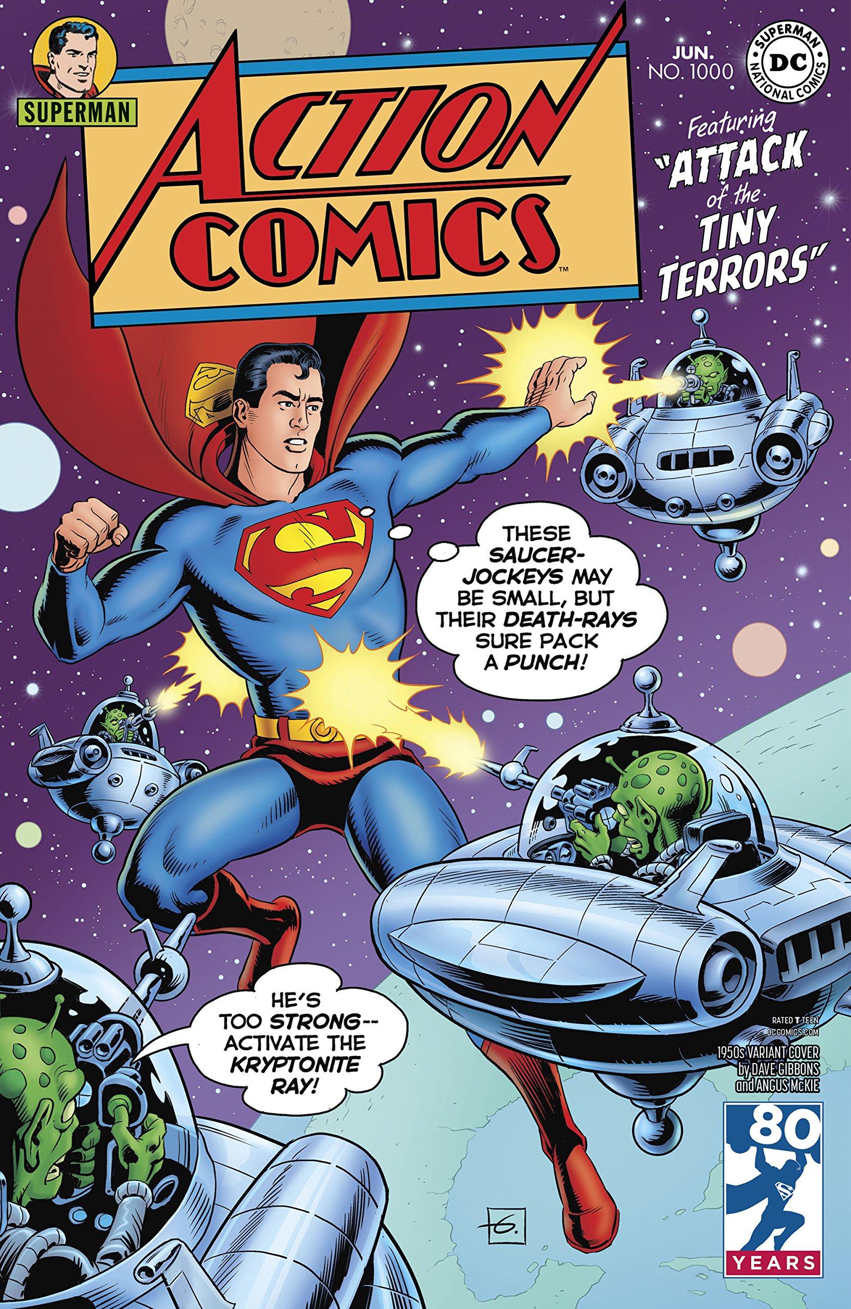ACTION COMICS #1000 1950S VAR ebook