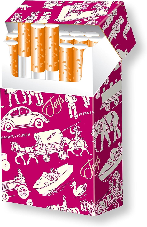 3 Zigarettenschachtel H/üllen /Überzieher SLIPP OVERALL Motiv Chat Noir Komplett/überzieher mit Deckel