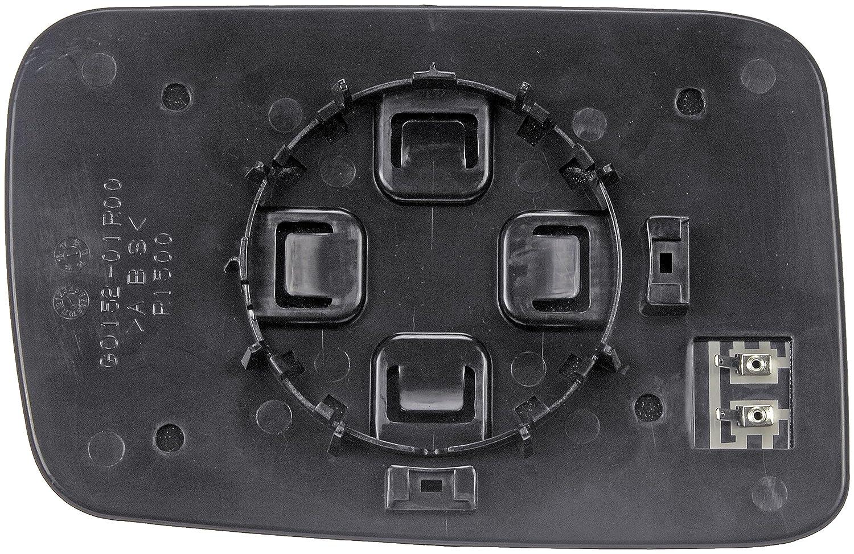 Dorman 56294 Jeep Commander Passenger Side Heated Plastic Backed Door Mirror Glass