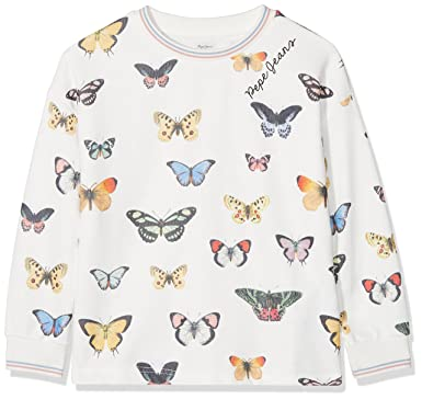 Pepe Jeans Geraldine JR, Sweat-Shirt Fille, (Multi 0aa), 4 Ans (Taille Fabricant: 4)