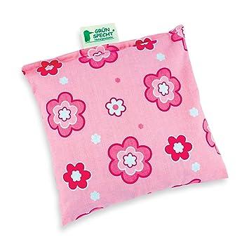 Grünspecht 100-V3 - Cojín (19 x 19 cm), color rosa