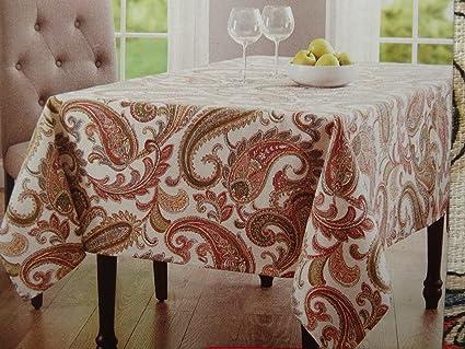 Merveilleux Better Homes Paisley Tablecloth 52u0026quot; ...