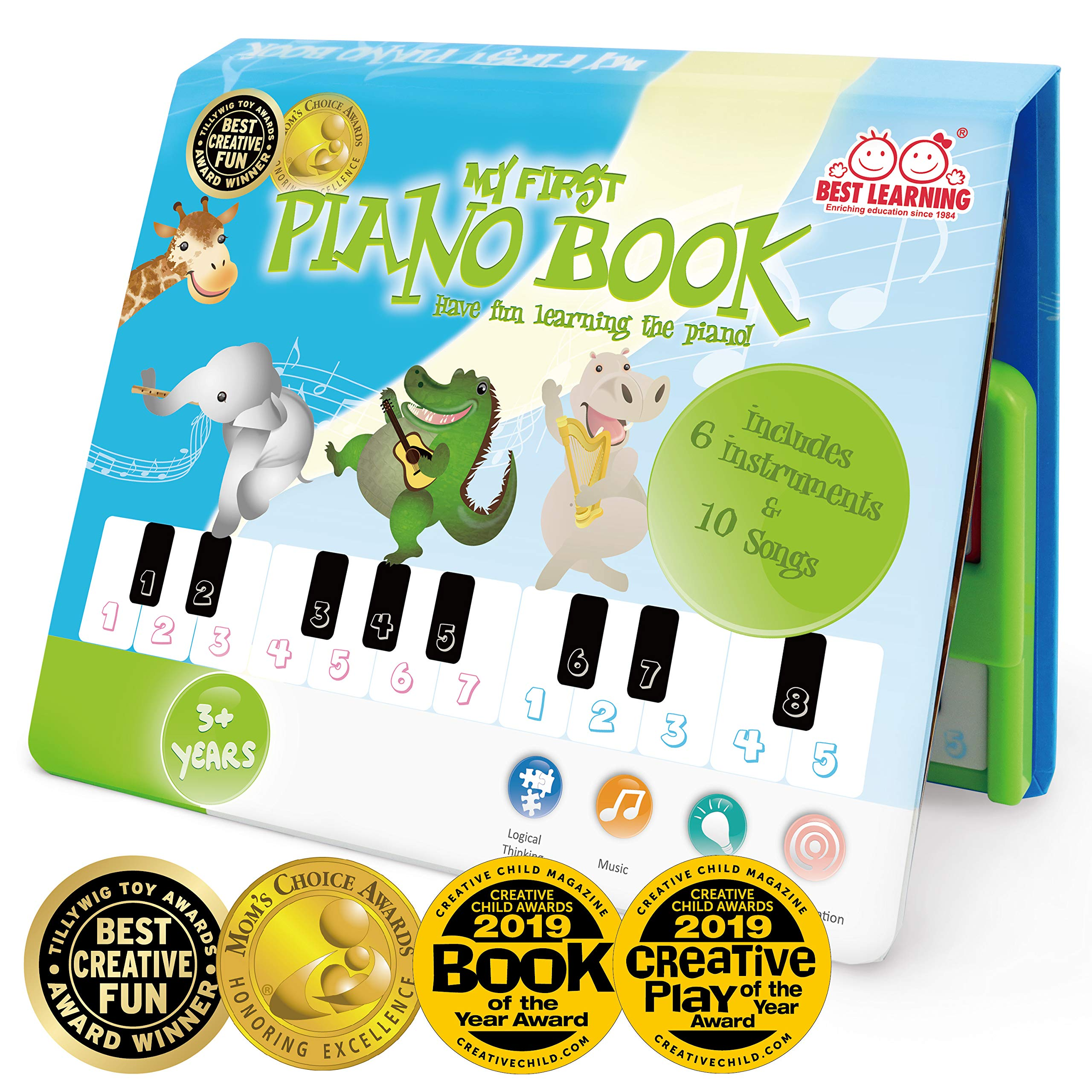 BEST LEARNING My First Piano Book - Educational Musical Toy for Toddlers Kids by BEST LEARNING