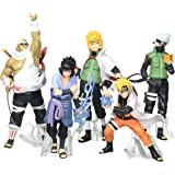 OliaDesign Naruto Uzumaki Kakashi Sasuke PVC Figure (Set of 5)