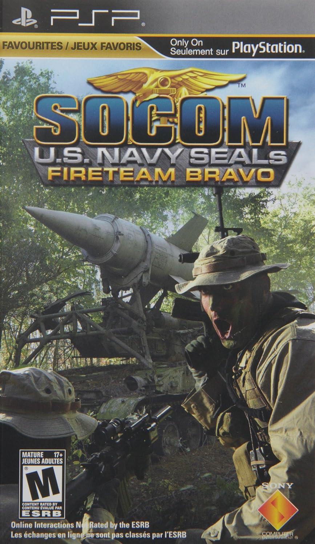 amazon com socom fireteam bravo sony psp artist not provided