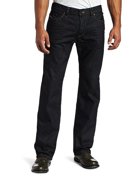 ecdf62d0 Diesel Men's Viker Regular 0088Z Slim Straight-Leg Jean: Amazon.ca ...