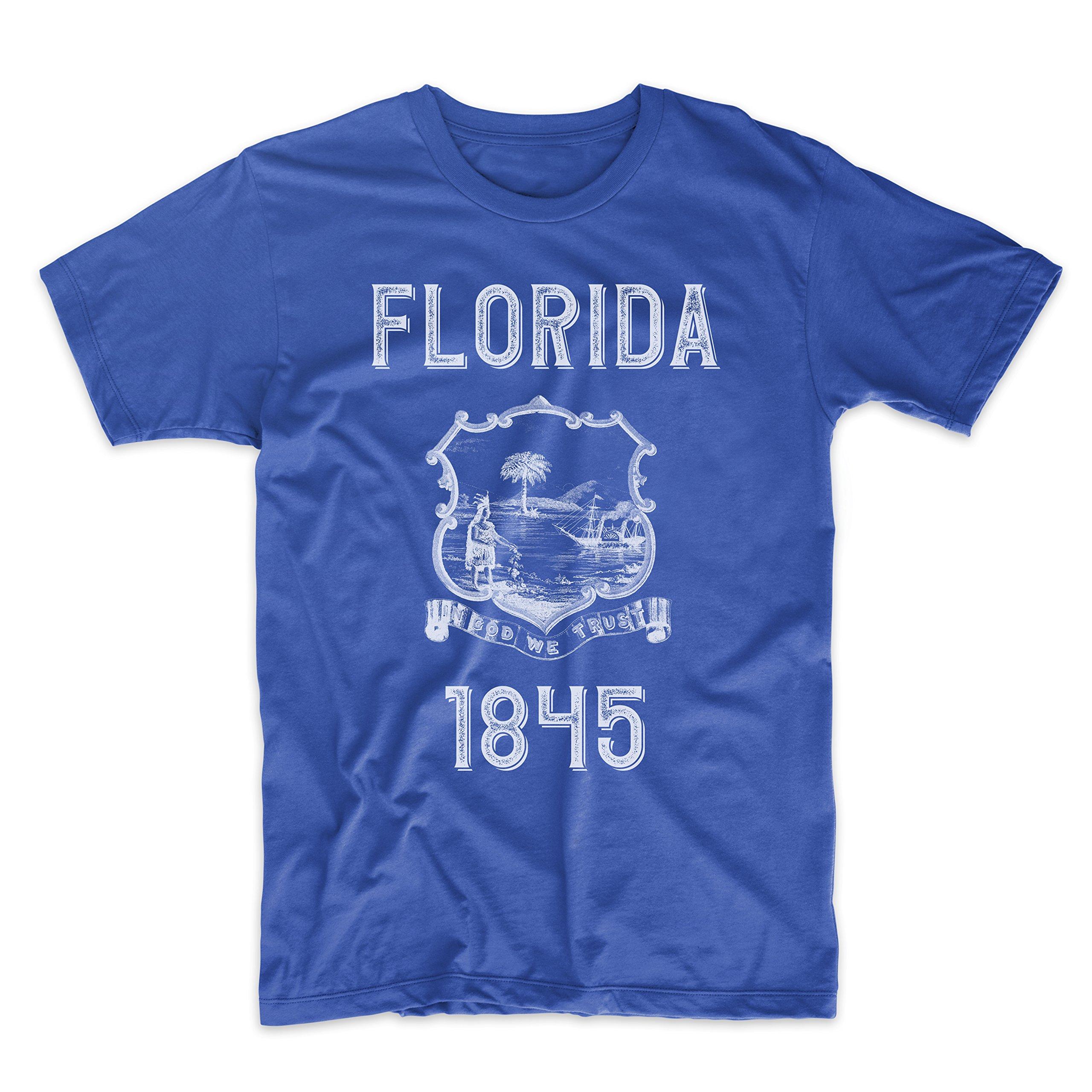 PatentPrints Florida Coat of Arms T Shirt