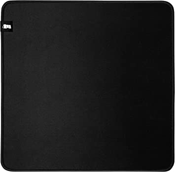 L Pro Gaming Mouse Pad M-330: Classic 330x330x5mm Durable Cloth Surface Monolith M-330: Classic Mouse Pad 13x13x0.2 Stitched Anti-Fray Edge