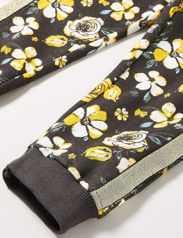Blue Seven M/ädchen Sweathose Mit Blumen-Muster Pantalon De Sport Fille