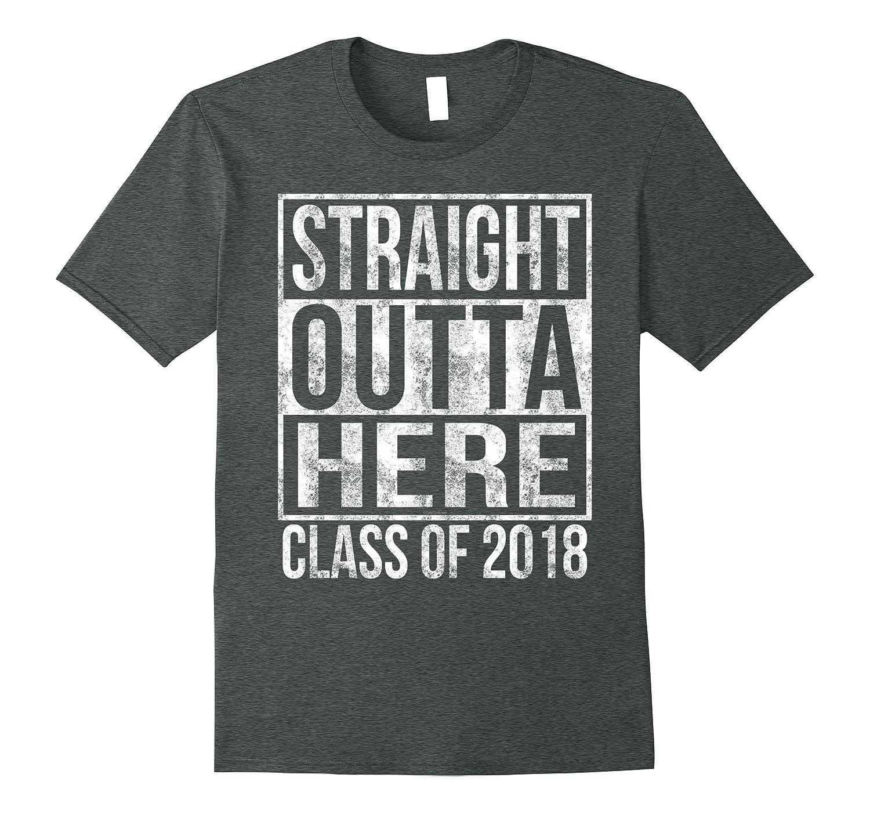 Straight Outta Senior Graduation T Shirt-Newstyleth