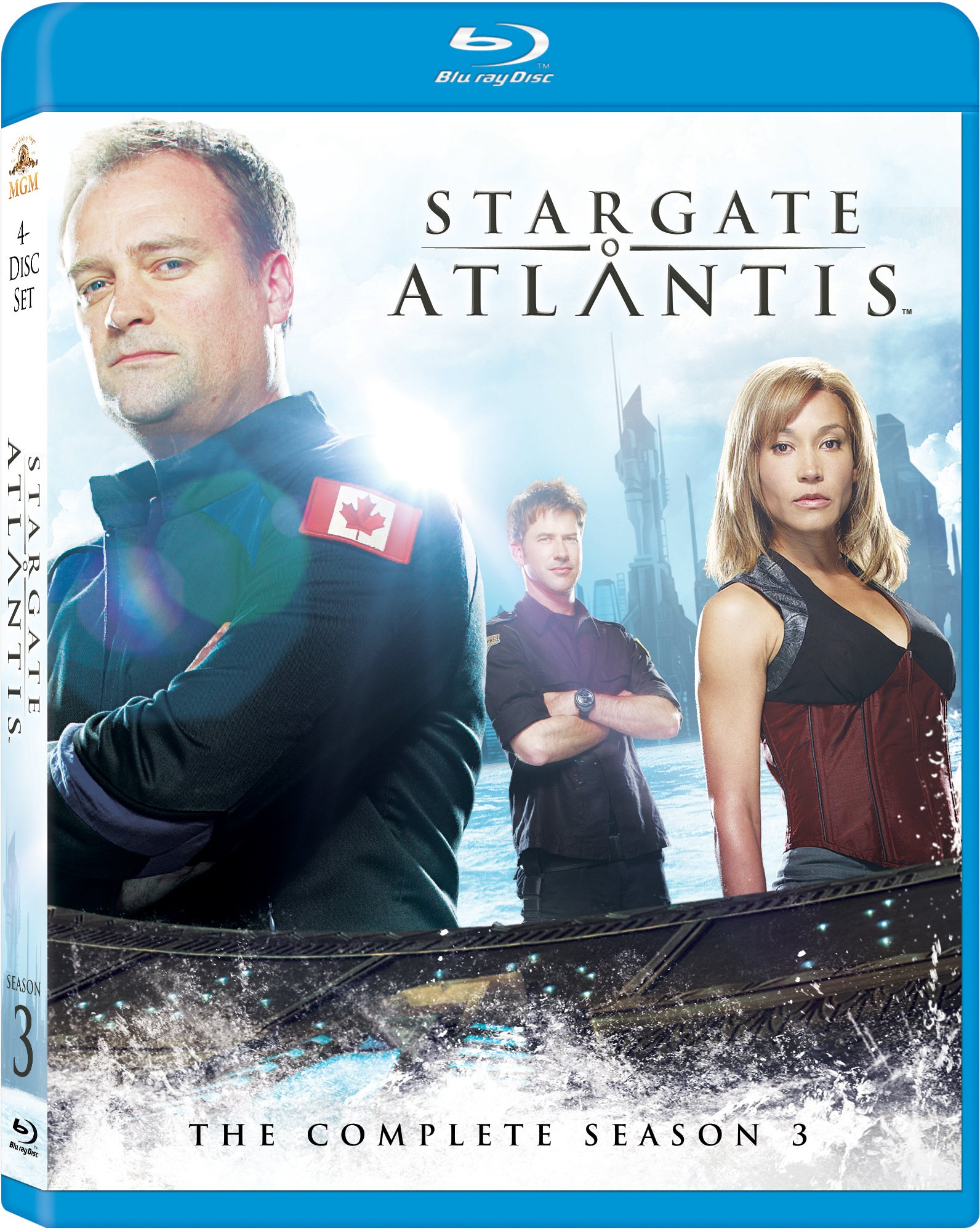 Stargate Atlantis: Season 3 [Blu-ray] by MGM (Video & DVD)