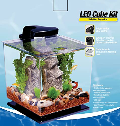 Tetra 29095 Cube 3-gallon aquarium kit