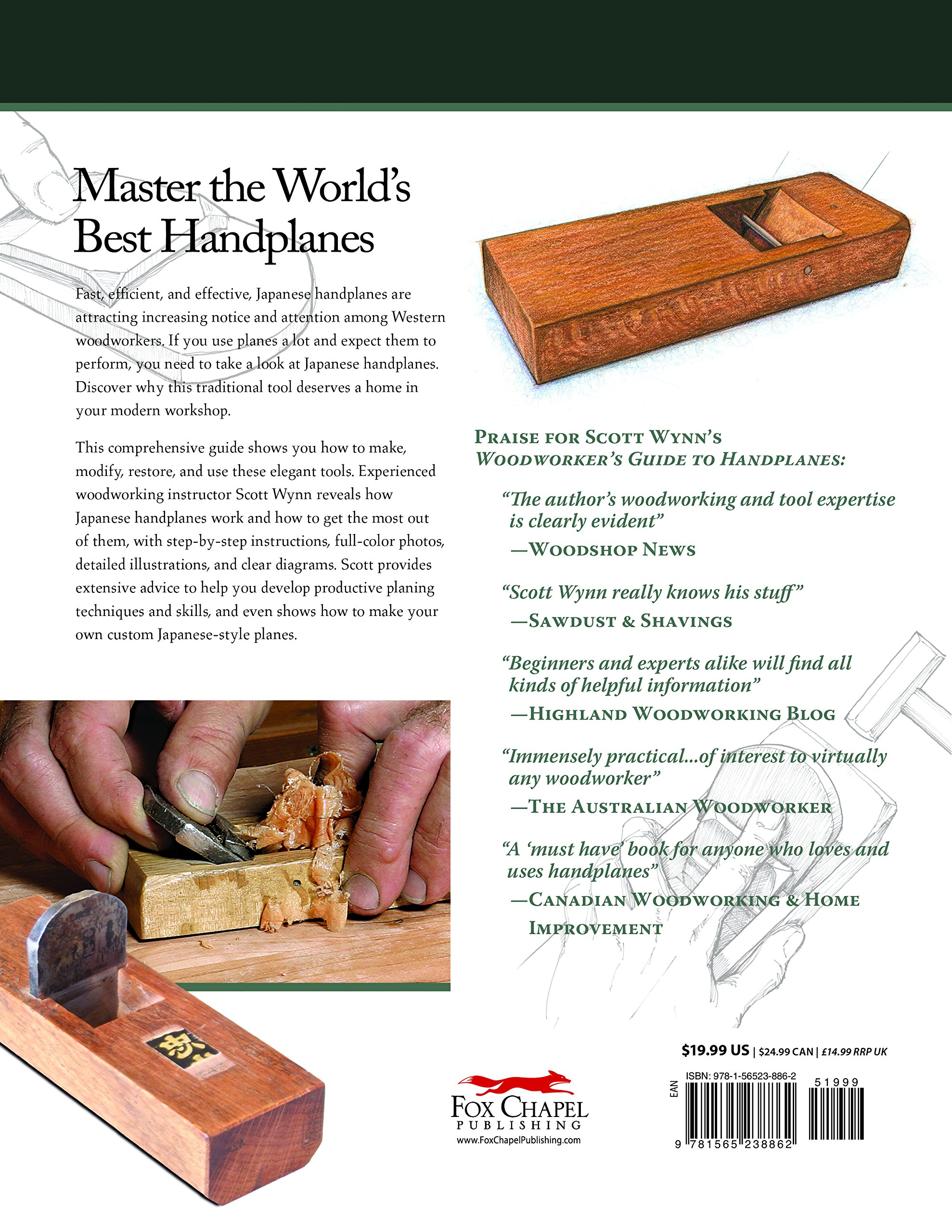 Discovering Japanese Handplanes: Why This Traditional Tool Belongs in Your Modern Workshop by Fox Chapel Publishing (Image #2)