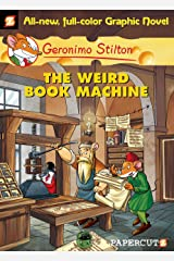 Geronimo Stilton Graphic Novels #9: The Weird Book Machine Kindle Edition