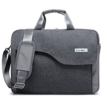 Amazon.com: CoolBell(TM)15.6 Inch Nylon Laptop Bag Shoulder Bag ...