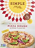 Simple Mills Pizza Dough Mix, 9.8 Ounce Box, 3 Count