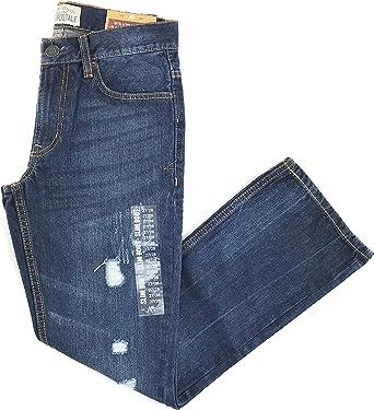 Amazon Com Aeropostale Pantalones Vaqueros Para Hombre 27 Cintura X 28 Largo Clothing