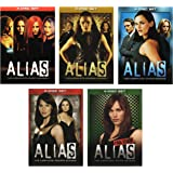 Alias - Seasons 1-5 (Complete Series) [DVD] Jennifer Garner; Victor Garber; book