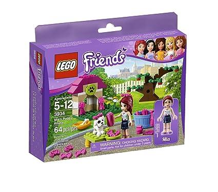 Amazoncom Lego Friends Mias Puppy House 3934 Toys Games