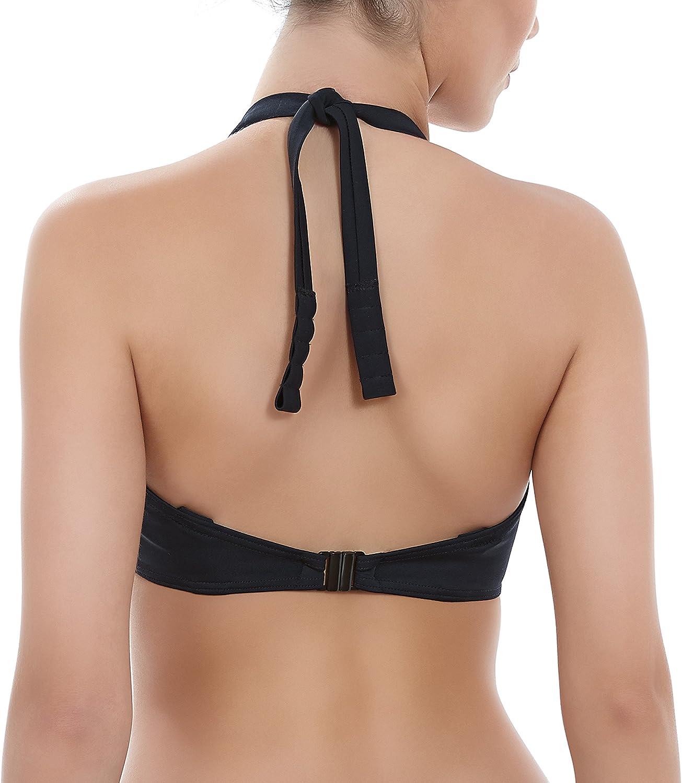 Freya Remix Padded Halter Bikini Top