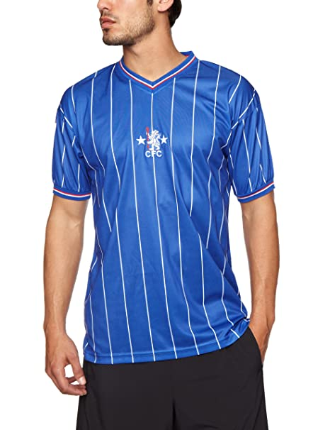 49132fa2f43 Score Draw Chelsea 1982 Shirt: Amazon.co.uk: Sports & Outdoors