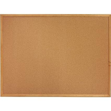 Amazoncom Cork Board 6 X 4 Oak Frame Bulletin Board Office Products