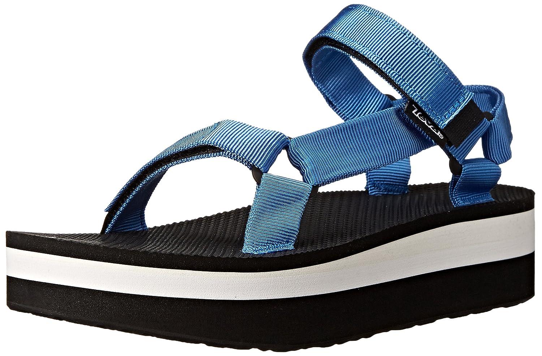Teva Women's Flatform Universal Sandal B00KXDAKBS 10 B(M) US|French Blue