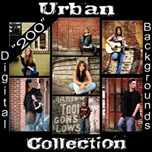 Amazon.com : Pro Digital Photography Backgrounds Urban
