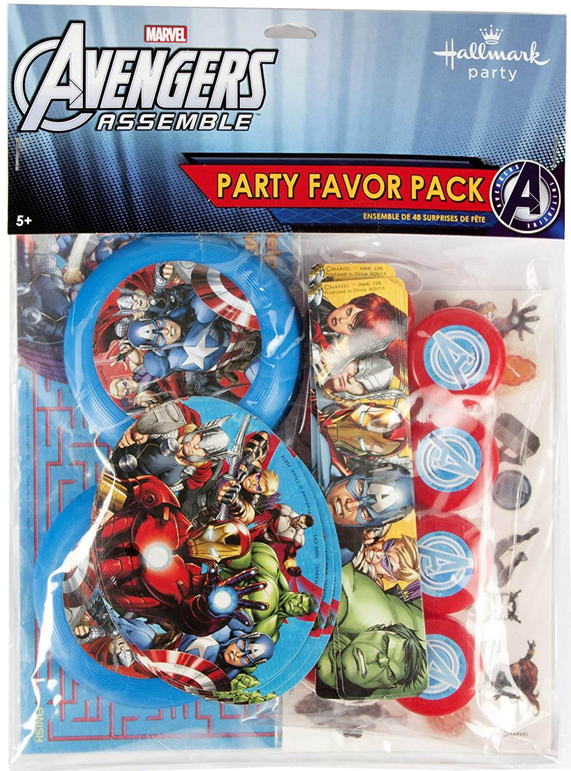Hallmark Avengers Assemble Favor Pack 48pc