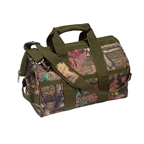 515d33c15f Bucket Boss Camo Gatemouth Tool Bag in Mossy Oak Camo, 85016 - - Amazon.com