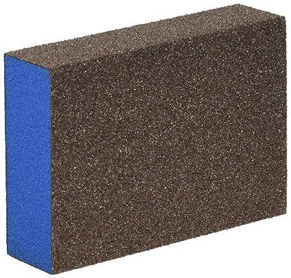 Webb abrasivos 601007 z-foam bloque esponjas de lijado, grano medio/fino,