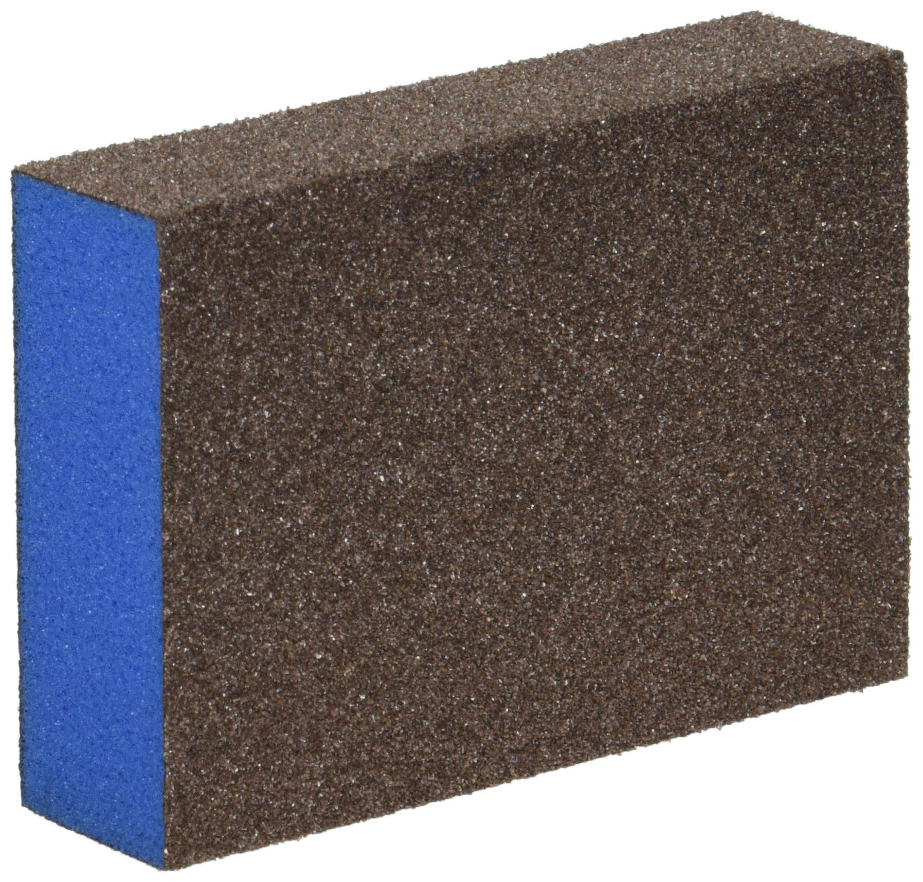 Webb Abrasives 601007 Z-Foam Block Sanding Sponges, Medium/Fine Grit, 2 5/8'' x 3 7/8'' x 1'' (24-Pack)