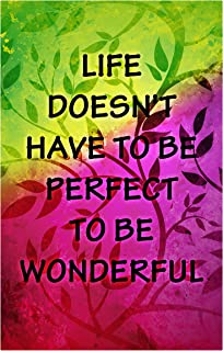 product image for Next Innovations Motivational Wall Art Life is Wonderful Wall Decor Panel