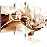 murando - Cuadro en Lienzo 100x50 cm Abstracto Impresión de 5 Piezas Material Tejido no Tejido Impresión Artística…