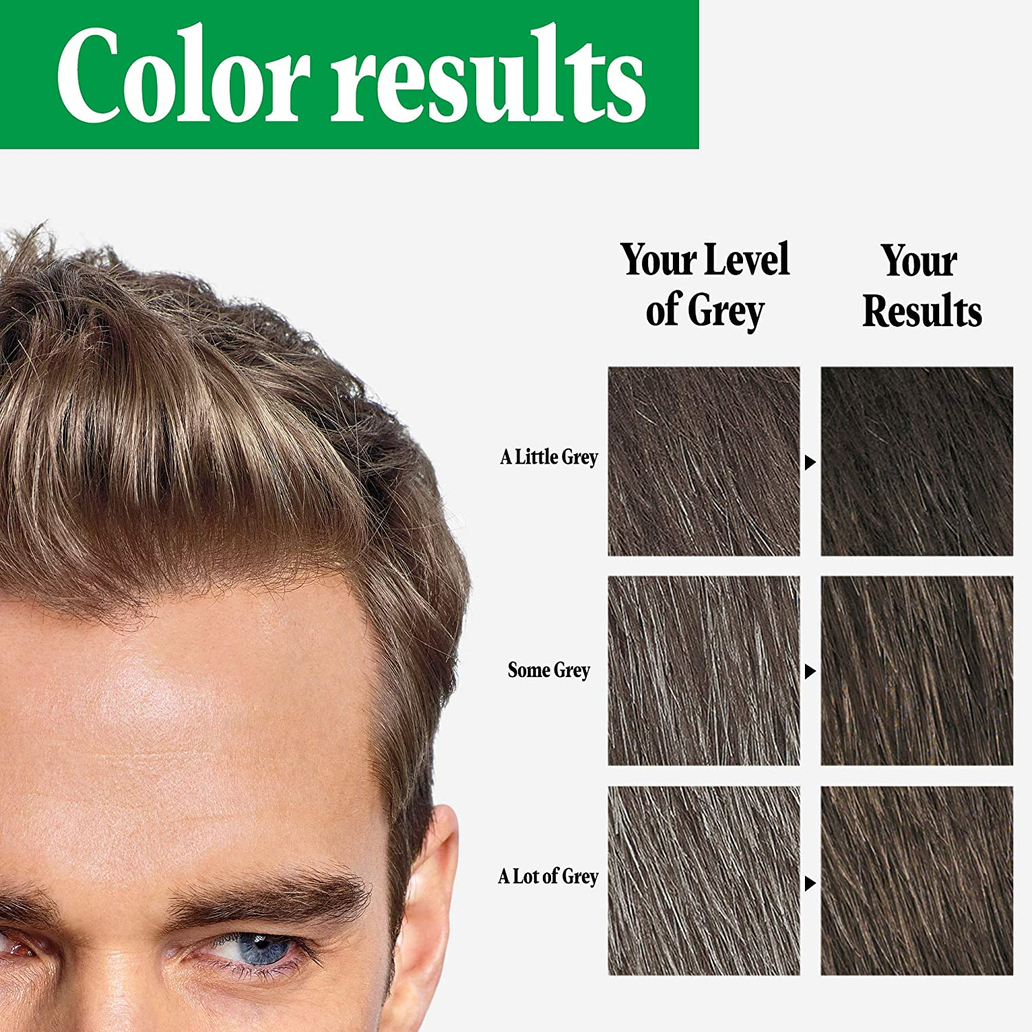 Amazon Com Just For Men Shampoo In Color Formerly Original Formula Gray Hair Coloring For Men Ash Brown H 20 Pack Of 3 Packaging May Vary Beauty