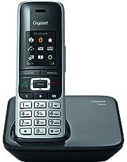 Gigaset S850 Noir Téléphone Sans fil DECT/GAP
