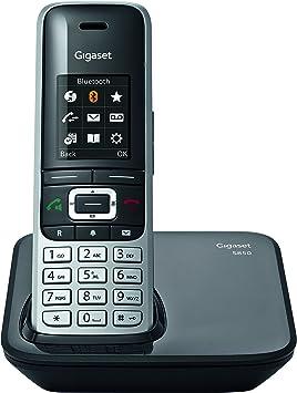 Gigaset S850 Teléfono inalámbrico DECT/Gap inalámbrico: Amazon.es: Electrónica