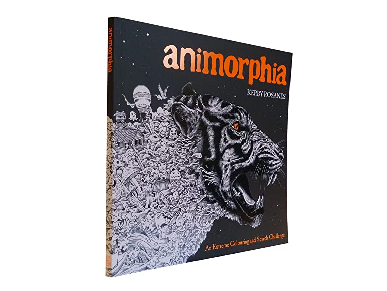 Animorphia An Extreme Colouring And Search Challenge Kerby Rosanes Amazoncouk Toys Games