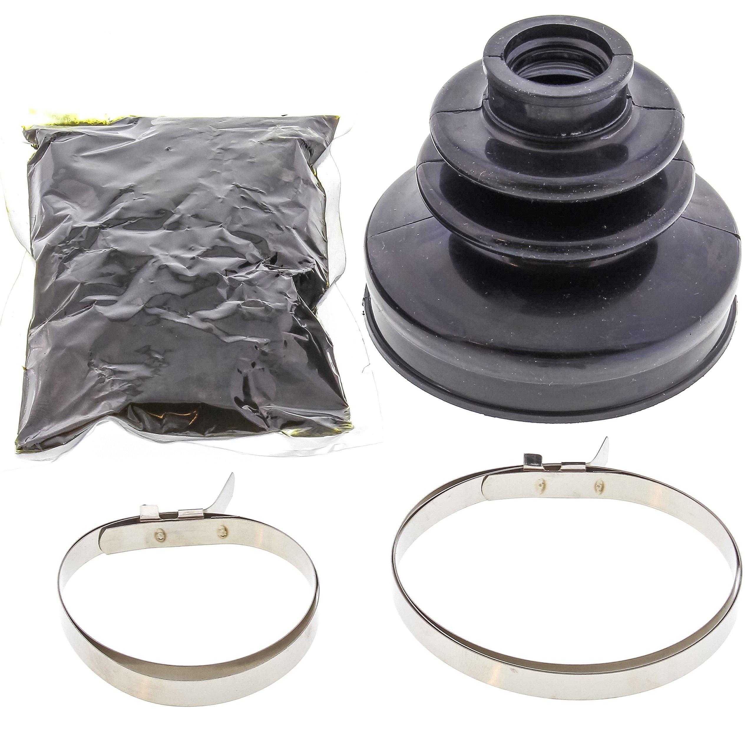 All Balls 19-5031 Black 19mm x 69mm x 65mm Long CV Boot Kit
