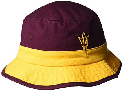 99567f9326b ... usa adidas ncaa arizona state sun devils adult bucket hat maroon small  medium 93b47 8540e