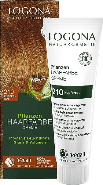 Logona Colorante Vegetal En Crema 210 Colores Otoño 150Ml 150 ml