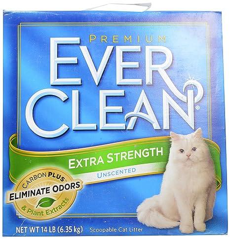 Ever Clean Arena para Gatos Extra Fuerte sin Aroma