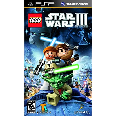 LEGO Star Wars III The Clone Wars - Sony PSP: Video Games