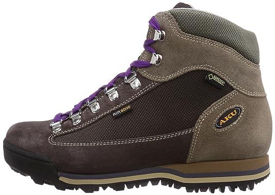 Aku Ultralight Micro Gtx, Damen Trekking- & Wanderstiefel, Braun (bron/violet 385), 41 Eu