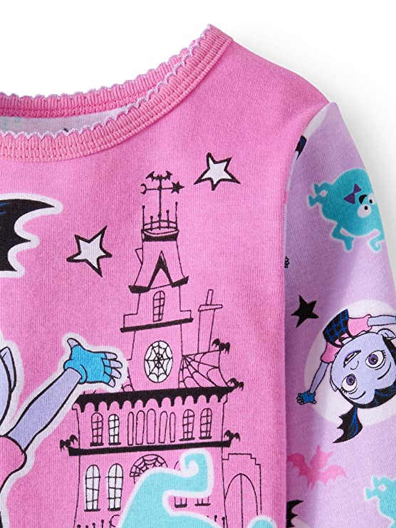 Disney Vampirina Little Girls Toddler Cotton Pajama Set by AME  Amazon.ca   Clothing   Accessories eeed98a3a