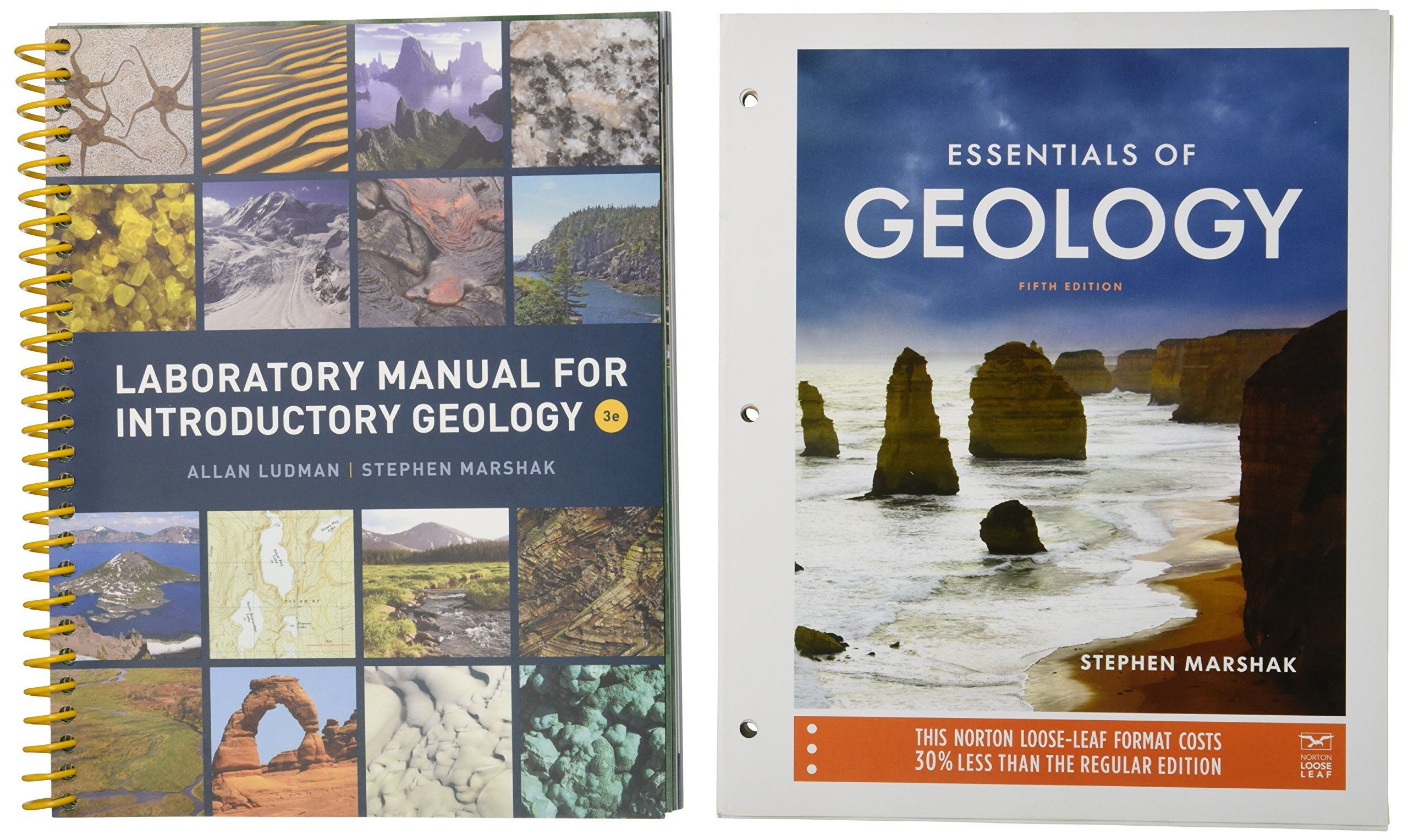 Essentials of Geology and Laboratory Manual for Introductory Geology:  Amazon.co.uk: Allan Ludman, Stephen Marshak: 9780393607406: Books